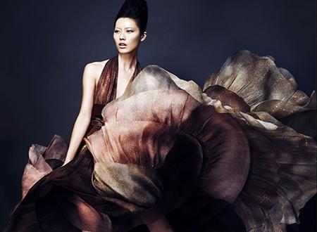 Китай на подиуме: Первая луноликая покорительница модельного бизнеса США и Европы.