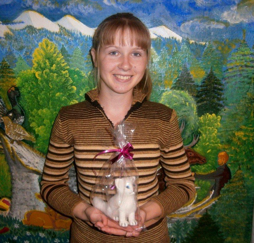 Автор: Светлана Ярославцева, Фотозал: Наши Дети, Верочка выиграла приз!
