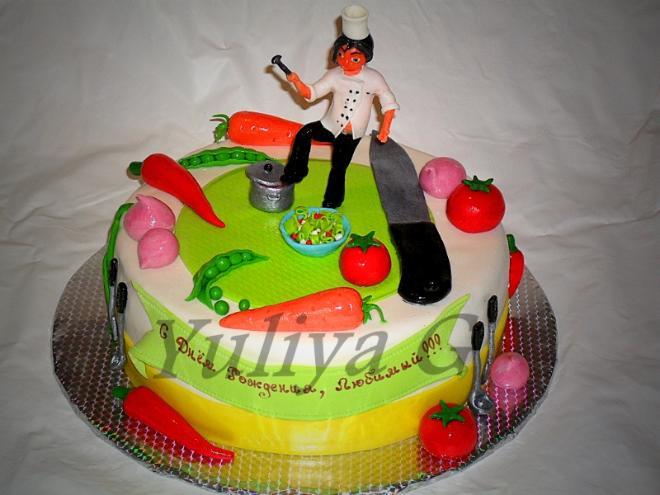 Торт для повара фото