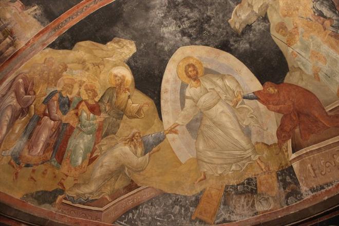 И одна из фресок