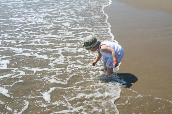 первые деньки с моря вылазить не хотелему очень понравились волны