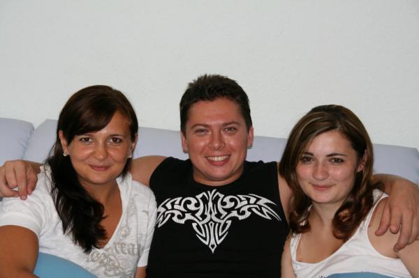 Ja  i nashi gosti Vitalik s Jannoj