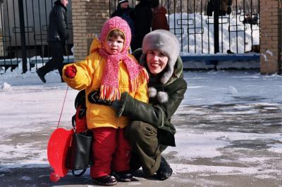Масленница.Весна 2004г.