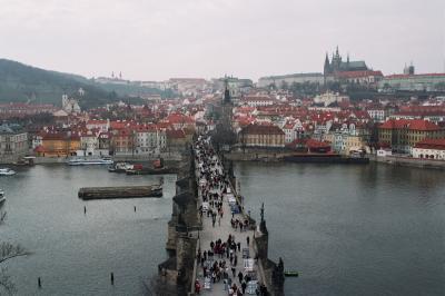 Прага.Карлов мост.