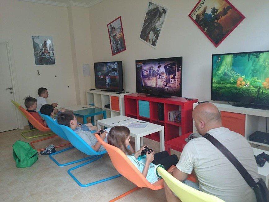 Автор: Елена Евстигнеева, Фотозал: Наши Дети, Гейм клуб для детей в нашем комплексе