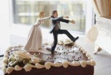 Свадебные необычные торты