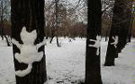 Надоели снеговики? Лепите котов!