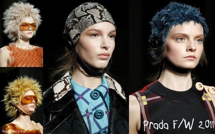 Осень-зима 2011-2012 от Pradа