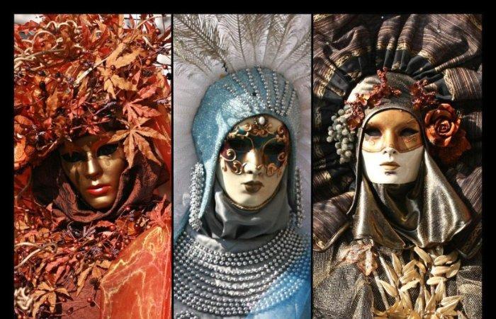 Венецианские маски своими руками: Ко второму виду масок относятся - Баута, Венецианская дама, Джокер, Кот, Доктор Чума и Вольто. Они появились в результате многовекового