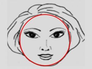 Типы лица : Чтобы визуально удлинить круглое лицо, нужно нанести темный тональный крем по всему овалу: начиная от скул и заканчивая нижней поверхностью