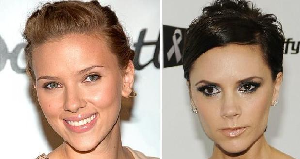 Типы лица : Ромбовидный тип лица    Ромбовидный тип лица отличают широко расставленные и ярко выраженные скулы, при довольно узком подбородке