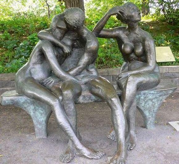 Секс и эротика в скульптурах
