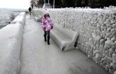 Снежная Европа