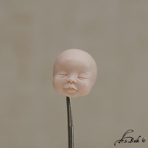 Лепим из полимерной глины младенца
