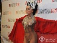 Наташа Королева в костюме Евы