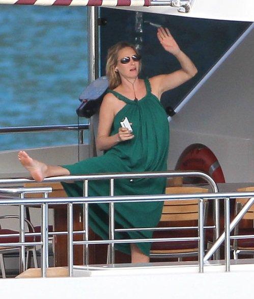 Беременные знаменитости 2012
