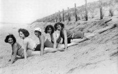 Пляжный стиль одежды в 1930-х годах