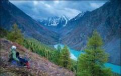 Один день в горах Алтая