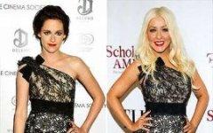 Звезды в одинаковых платьях 2012