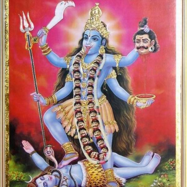 the image and symbolism in the myth of kali an indian goddess