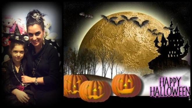 Автор: fzaychenko, Фотозал: Наши Дети, Мои красавицы на празднике  Хэллоуин