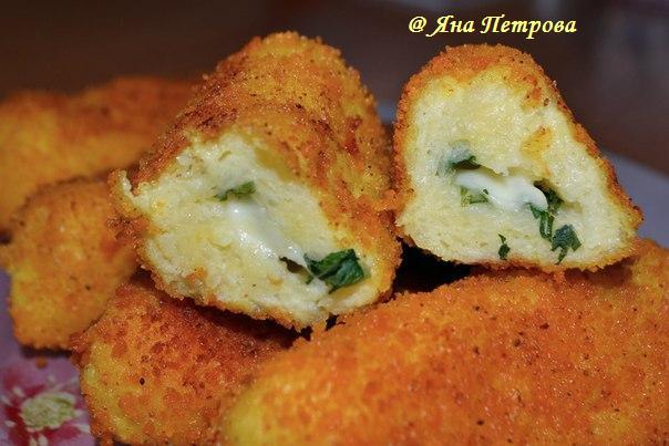 Картофельные палочки с сыром рецепт с фото