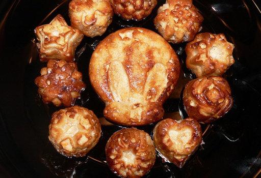 Диета Дюкана: рецепты: <b>Мини кексики из творога (когда сладенького хочется)</b>  <br><br>  - 600 гр. творога 0% (сухого)<br>  - 200 гр.