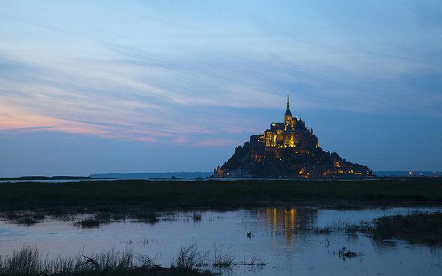 Нормандия. Аббатство Mont Saint-Michel