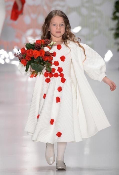 Звезды и их дети на Неделе Моды в Москве