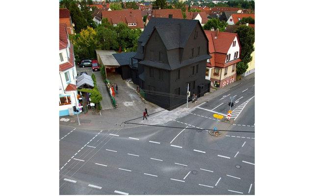 Черный дом из страшилок существует в Германии