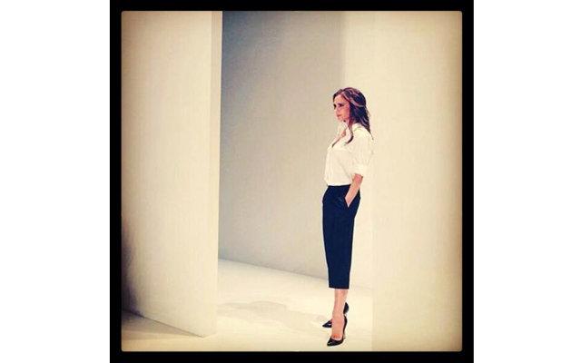 Очаровательная Харпер Бекхэм на неделе моды в Нью-Йорке