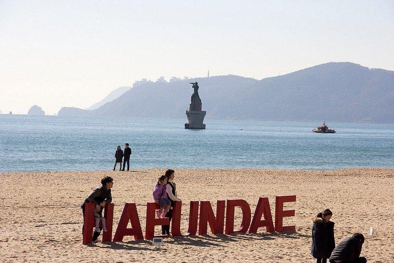 Автор: Розабельверде, Фотозал: Туристические зарисовки, Пляж Хэундэ