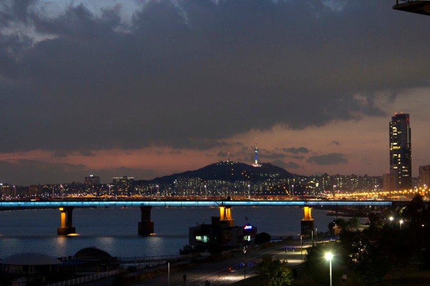 Автор: Розабельверде, Фотозал: Туристические зарисовки, Вид на гору Нам и N Seoul Tower.