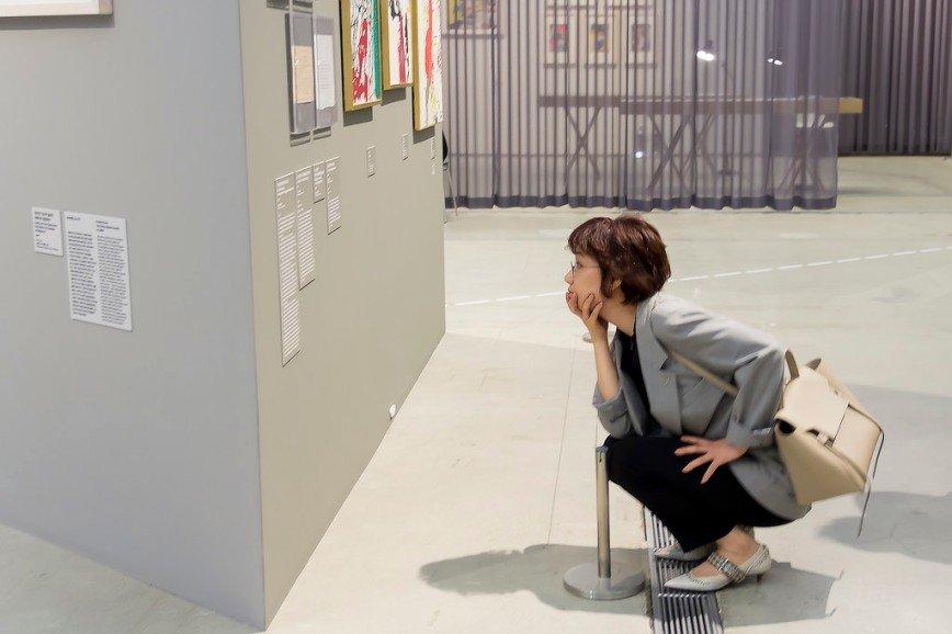 Автор: Розабельверде, Фотозал: Я - очевидец, На выставке датского авангардиста Йорна Асгера в Сеула.