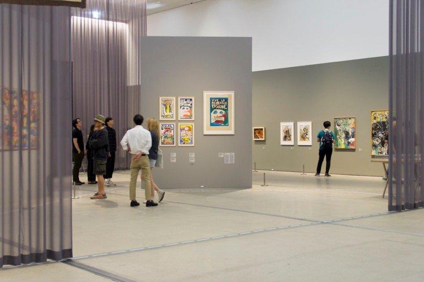 Автор: Розабельверде, Фотозал: Туристические зарисовки, Музей современного искусства в Сеула. Выставка датского авангардиста Йорна Асгера.