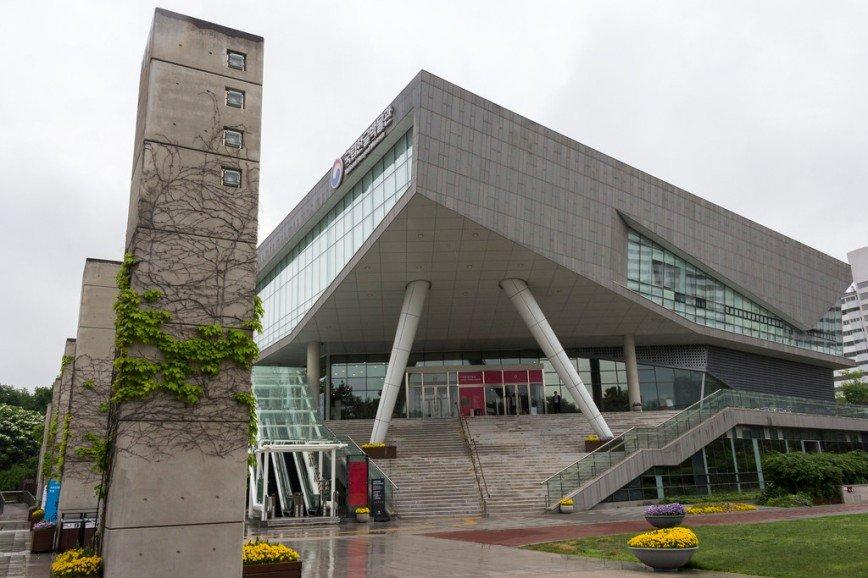 Автор: Розабельверде, Фотозал: Туристические зарисовки, Музей хангыля - корейской письменности. Один из самых молодых столичных музеев - ему всего 5 лет.