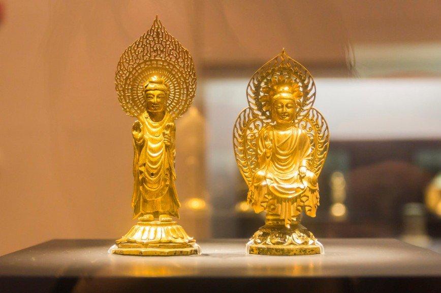 Автор: Розабельверде, Фотозал: Туристические зарисовки, Золотые статуэтки Будды.