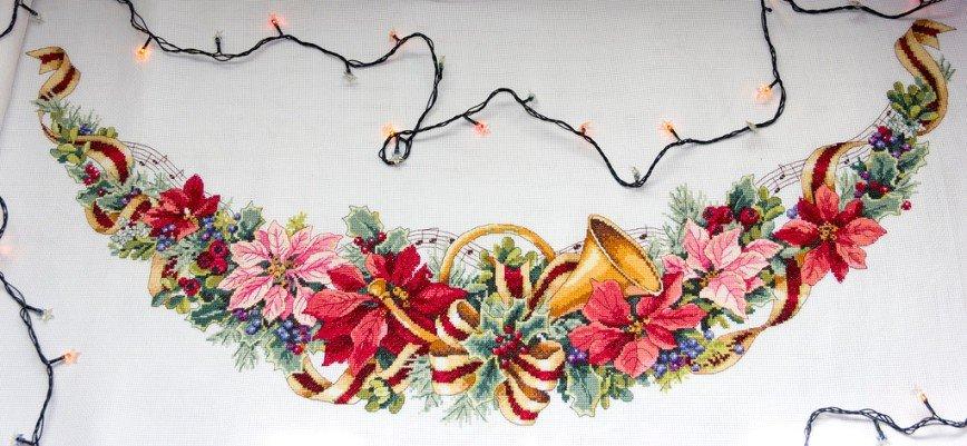 Автор: Розабельверде, Фотозал: Мое хобби, Holiday Harmony. Юбка под елку от Dimension.