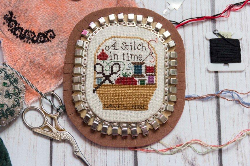 Автор: Розабельверде, Фотозал: Мое хобби, A Stitch In Time Saves Nine, Дизайн The Prairie Schooler. Органайзер для ниток (можно и иголки использовать при желании) на 35 оттенков.