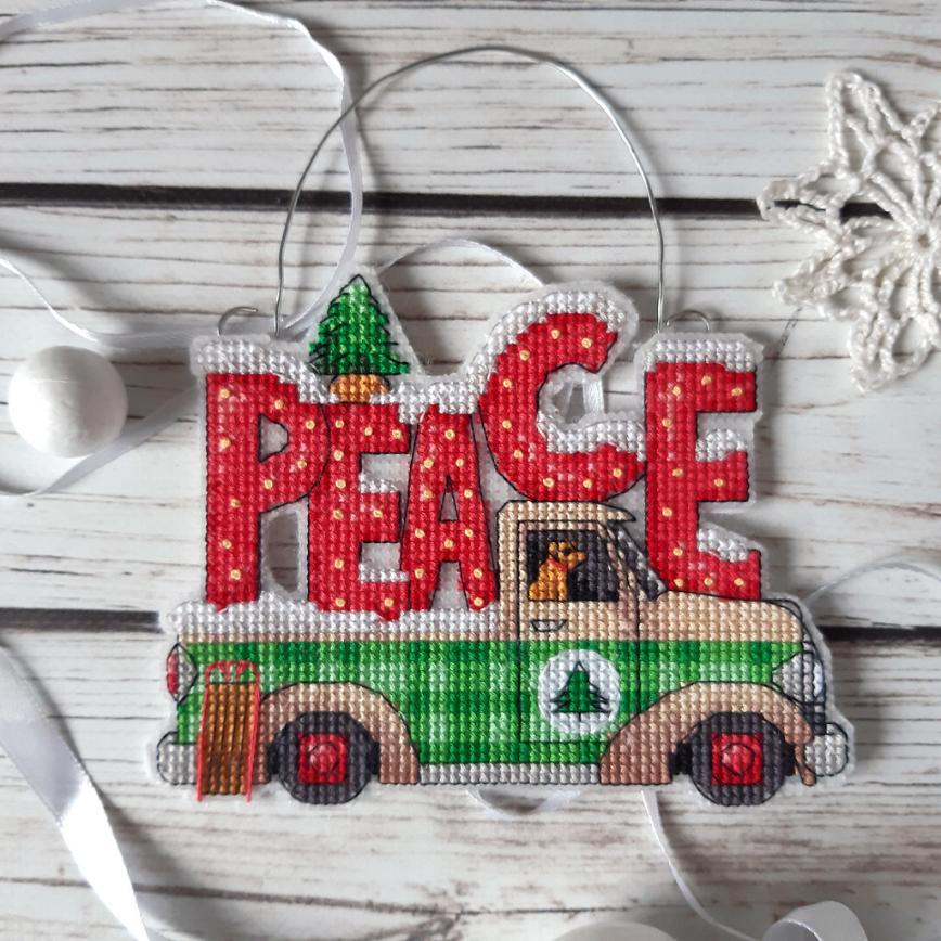Автор: Розабельверде, Фотозал: Мое хобби, Holiday Truck Ornament 2 от Dimensions