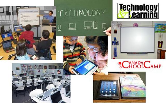 Технологии в современной канадской школе: За последнее десятилетие в школе к компьютерам, калькуляторам и принтерам добавились новые средства: планшетники, интерактивные белые доски и 3Д принтер