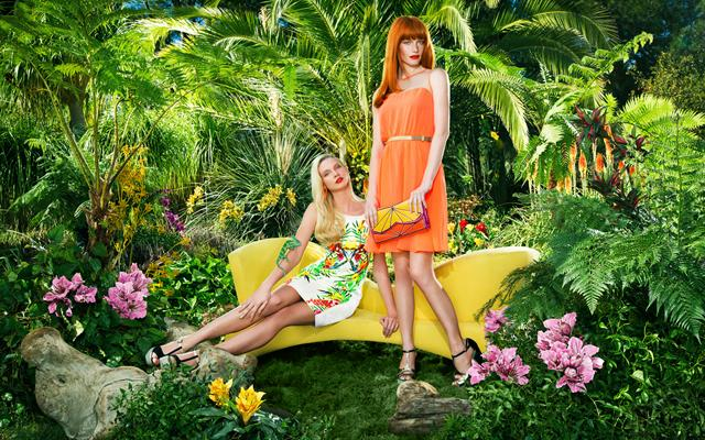 Тропическая рекламная кампания от Киры Пластининой