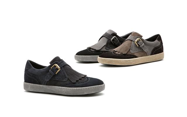 Женские винтажные кроссовки Santoni