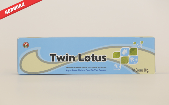 Зубная паста Twin Lotus Aqua Cool