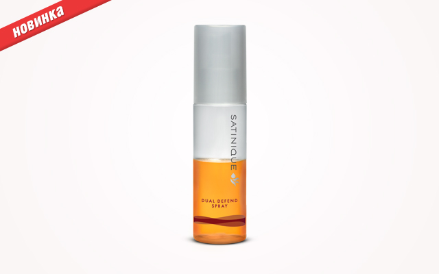 Защищающий спрей для волос от Satinique