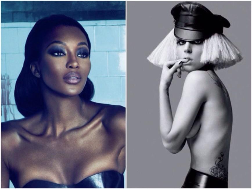 Наоми Кэмпбелл и Леди Гага снимутся в одном сериале