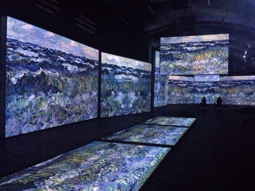 В Москве открыта выставка оживших полотен импрессионистов