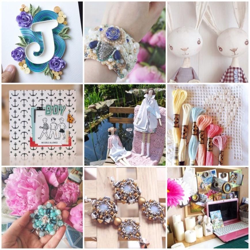 10 вдохновляющих аккаунтов рукодельниц в Instagram
