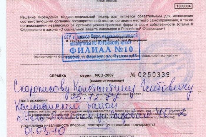 для мало народа приходит в бюро мсэ всей России Оборудование