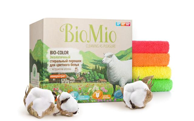 Серия экологичных средств для дома BioMio